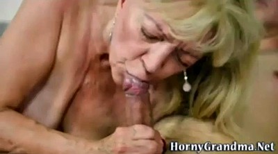 Mature swallow, Amateur granny
