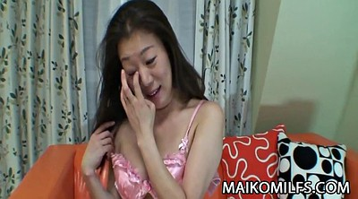 Japanese mature, Creampie surprise