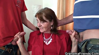 Wife threesome, Hot wife, Matured, Hot granny