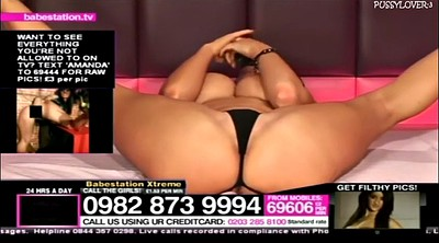 Babestation, Big tits striptease, Amanda