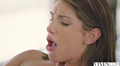 August ames, Huge creampie