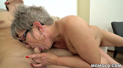 Grandma, Ride, Sucking, Granny deepthroat