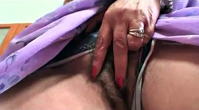 Hairy granny, Old mature