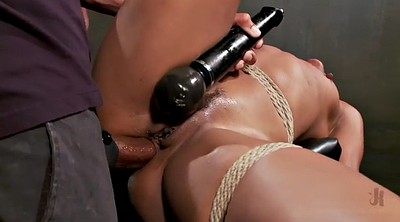 Bdsm, Double anal, Anal milf, Rope, Interracial milf