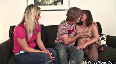 Mother, Mother in, Stocking mature, Mother and, Mature stocking