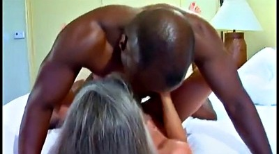 Black, Young and old, Mature and young, Creampie granny, Big mature