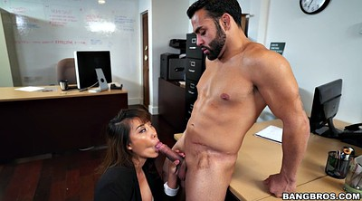 In the office, Asian office