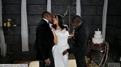 Bride, Asian black, Groom, Bride anal