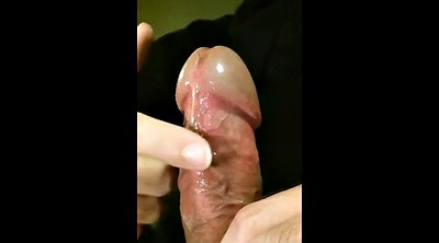 Masturbating, Fat gay, Pulsating, Huge cock handjob