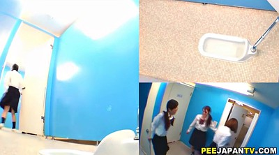 Piss, Japanese pissing, Toilet, Voyeur pissing, Japanese school, Voyeur toilet