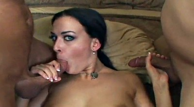 Rough, Cum mouth, Double blowjob