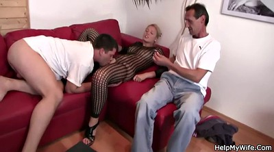 Watching wife, Old dick, Wife watching, Cuckolded