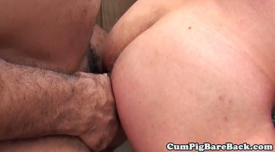 Interracial anal, Bear, Anal interracial