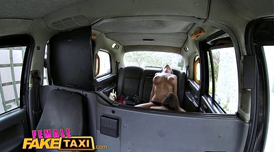 Taxi, Fake taxi, Big fake tits