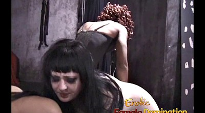Femdom, Helpless, Three, Mistress, Spanking girl