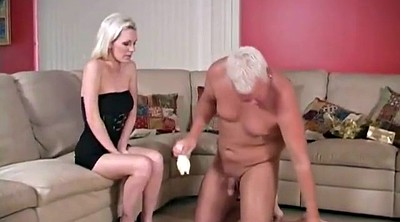 Cuckold, Old, Foot slave, Cuckold foot