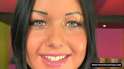 Audition, Angelica heart, Angelica, First big cock