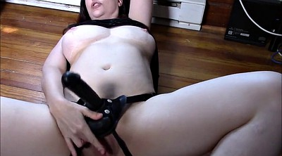 Big cock, Strapon milf