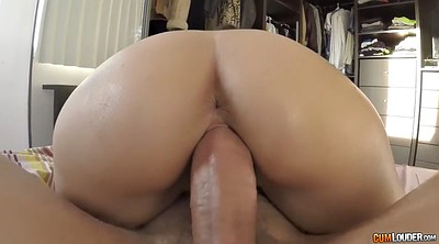 Latina doggy fucking brunette, Latina doggy fucking