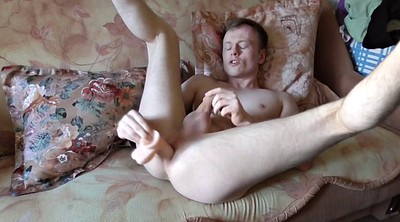 Strip, Small cock, Gay masturbation, Big toys