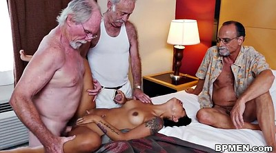 Nikki sex, Granny threesome