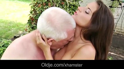 Granny masturbation, Young small