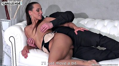 Casting anal, Czech anal, Very hard, Mea melone