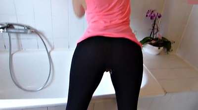 Bathroom, Creampie wife