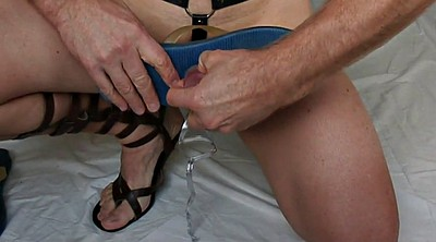 Crossdress, Inserted, Insertion, Sandals