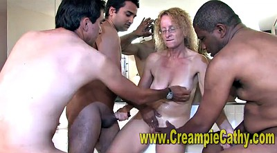 Sloppy, Gangbang creampie