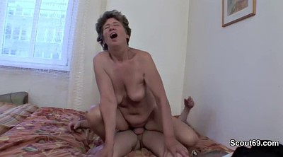 Caught, Granny anal, Young and old, Trapped, Granny ass, Young mother
