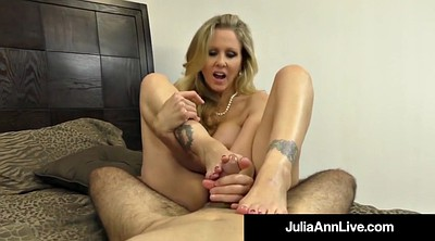 Feet, Mature feet, Julia
