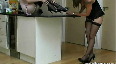 Nylon, High heels, Shoe, High-heeled, Nylon foot, High heels fetish