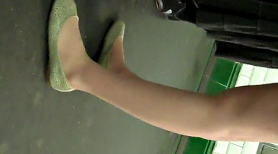 Pantyhose foot, Pantyhose fetish, Shoeplay, Pantyhose feet