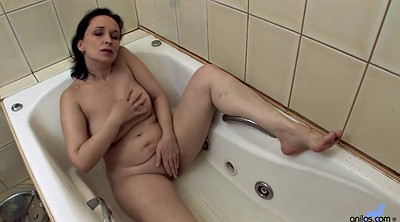 Hot mom, Mom solo, Mature solo, Shower solo