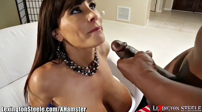 Lisa ann, Mature anal interracial