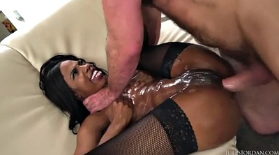 Big butt creampie, Anal creampie, Sarah, Black ass, Bank