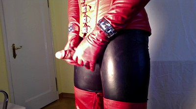 Crossdress, Boots, Gloves, Leather boots, Crossdresser, Leather boot