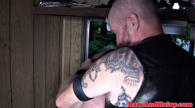 Rimming, Bear, Leather anal, Leather ass