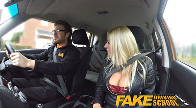Peeing, Squirting creampie, Fake driving school