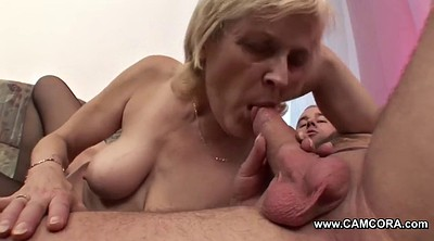 Granny, Home, Young boy, Mom boy, Fuck mom, Mom n boy