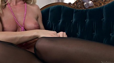 Silvia saint, Showing pussy, Saint, Stockings solo, Solo stockings, Pussy showing