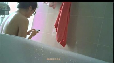 Chinese girl, Chinese,, Chinese voyeur, Chinese shower