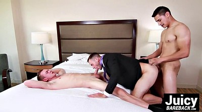 Hotel room, Threesome ass, Gay room, Gay muscle