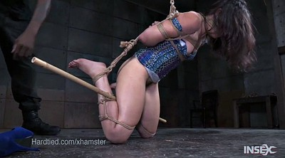 Interracial bdsm, Rope, Amy