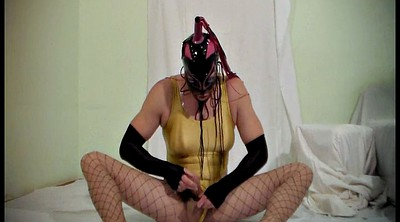 Pantyhose, Masks, Latex shemale, Free