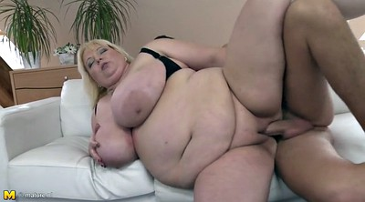 Young milf, Old mom, Fuck son, Bbw mature