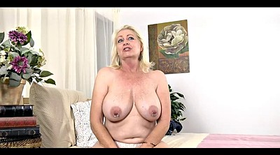 Mature casting, Mature blonde, Older granny, Casting mature