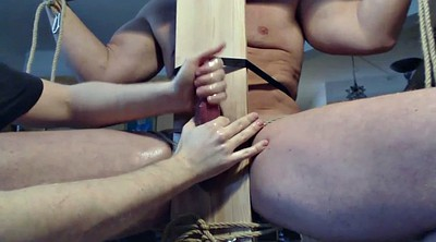 Edging, Bondage gay