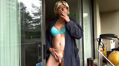 Flashing, Smoking fetish, Bra, Smoking sex, Flashes